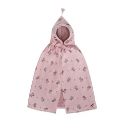 Loulou Bath Cape octopus print