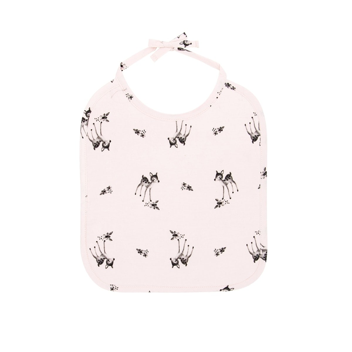 Anna Printed Bib Fawn Light Pink