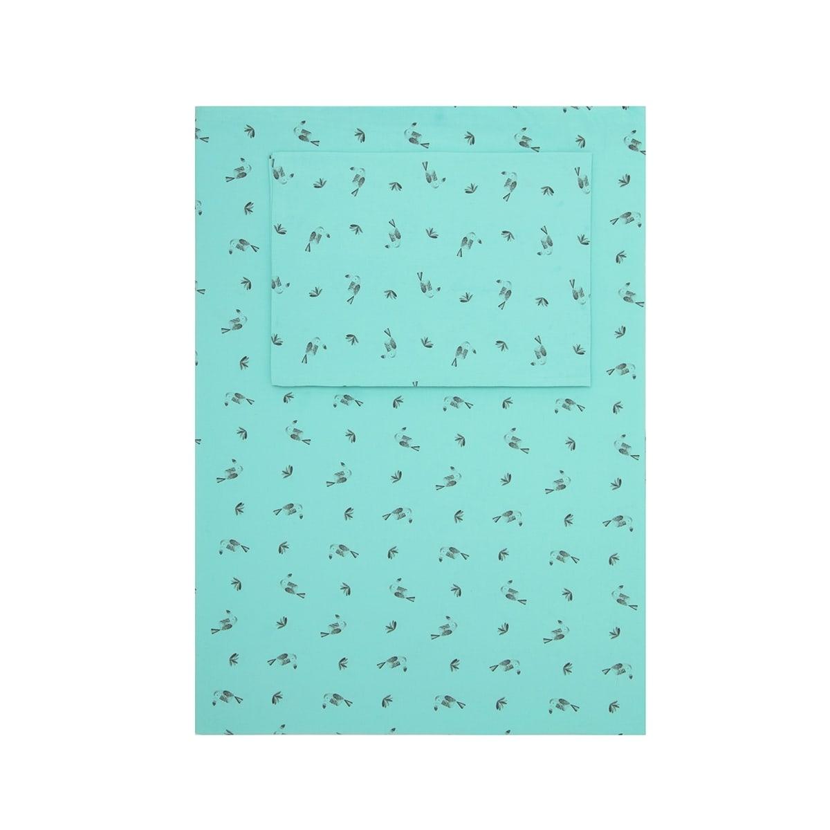 Plume toucan bedding set