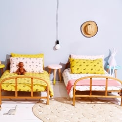 Plume Fox bedding set