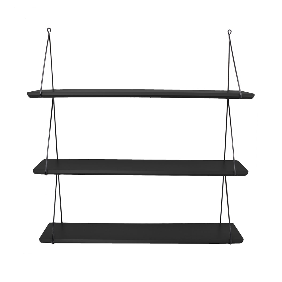 Babou 3 shelves Black