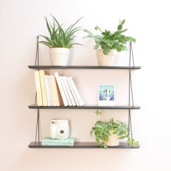 Babou 3 shelves Black