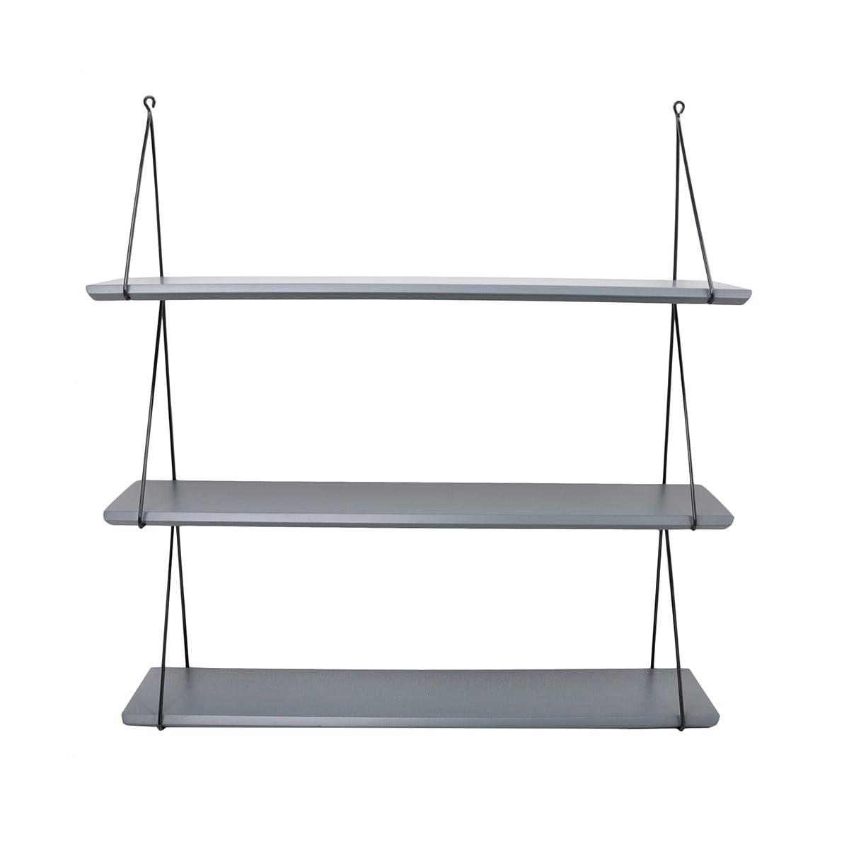 Babou 3 shelves Ciment Grey