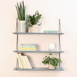 Babou 3 shelves Ciment Grey