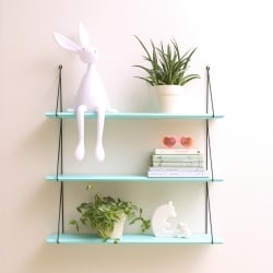 Babou 3 shelves Electric Green