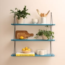 Babou 3 shelves Petrol Blue