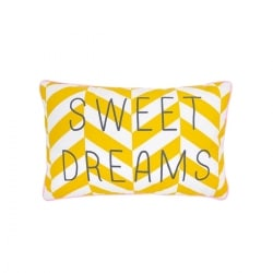 Coussin Message Sweet Dreams