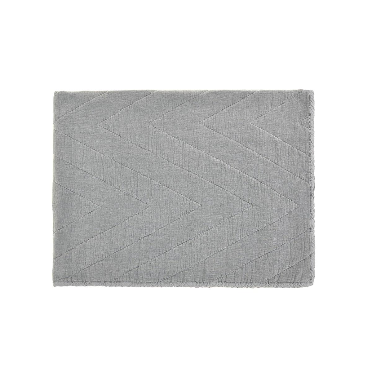 Edredon Eugenie Ciment Grey