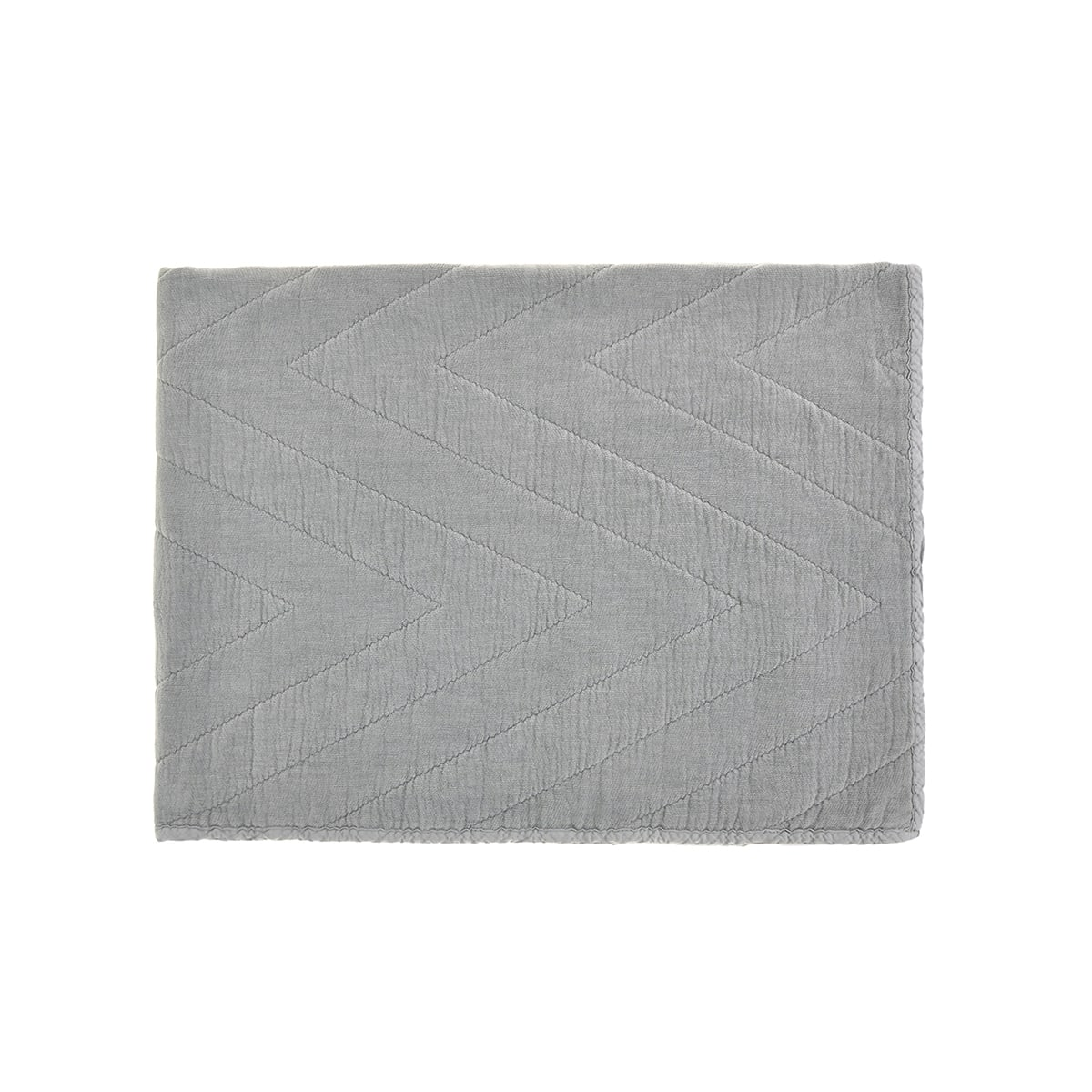 Eugenie quilt Ciment Grey