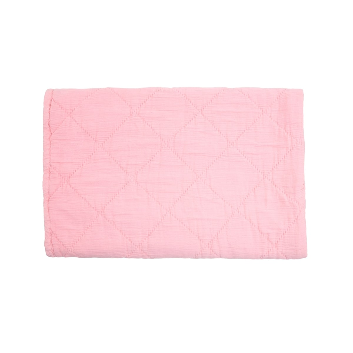 Alma Quilt Coral Pink