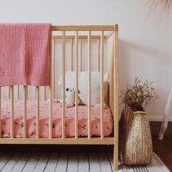 Bou Blanket Coral Pink