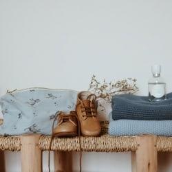 Bou Blanket Winter Blue