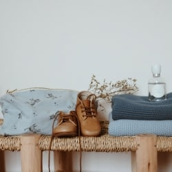 Couverture Bou Winter Blue