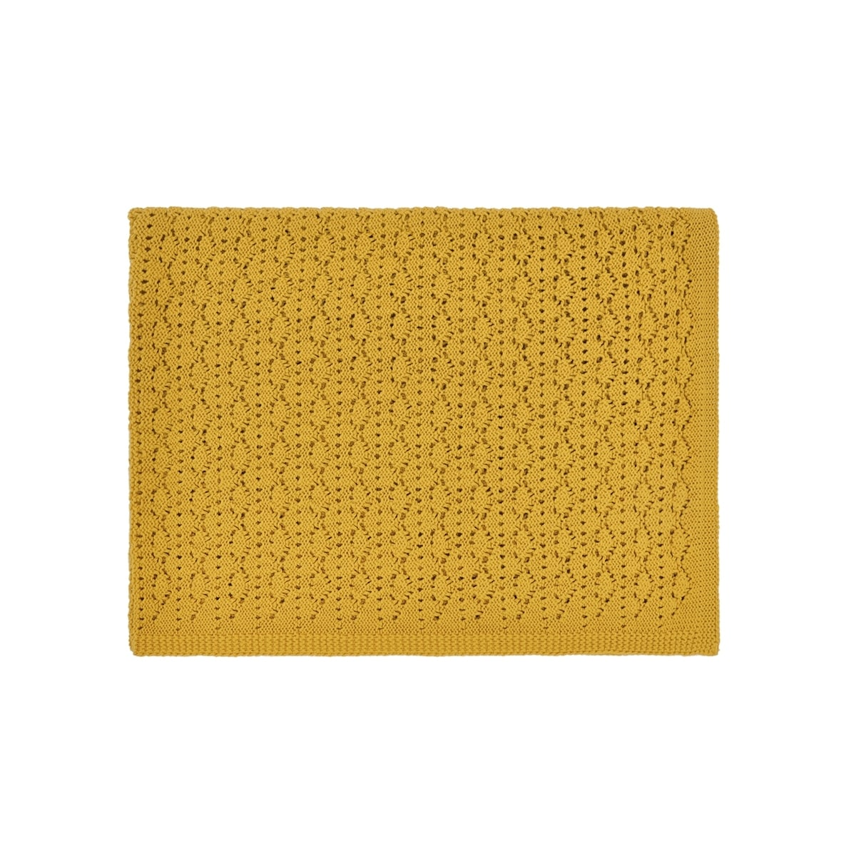 Couverture Dentelle Ceylan Yellow
