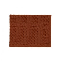 Dentelle Blanket Chestnut