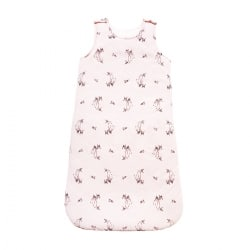 Sarah sleeping bag fawn print Ecru