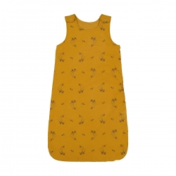 Sarah sleeping bag fawn print Brown Sugar
