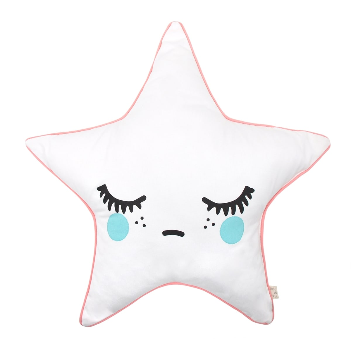 Sleepy Dolly Star Cushion Green