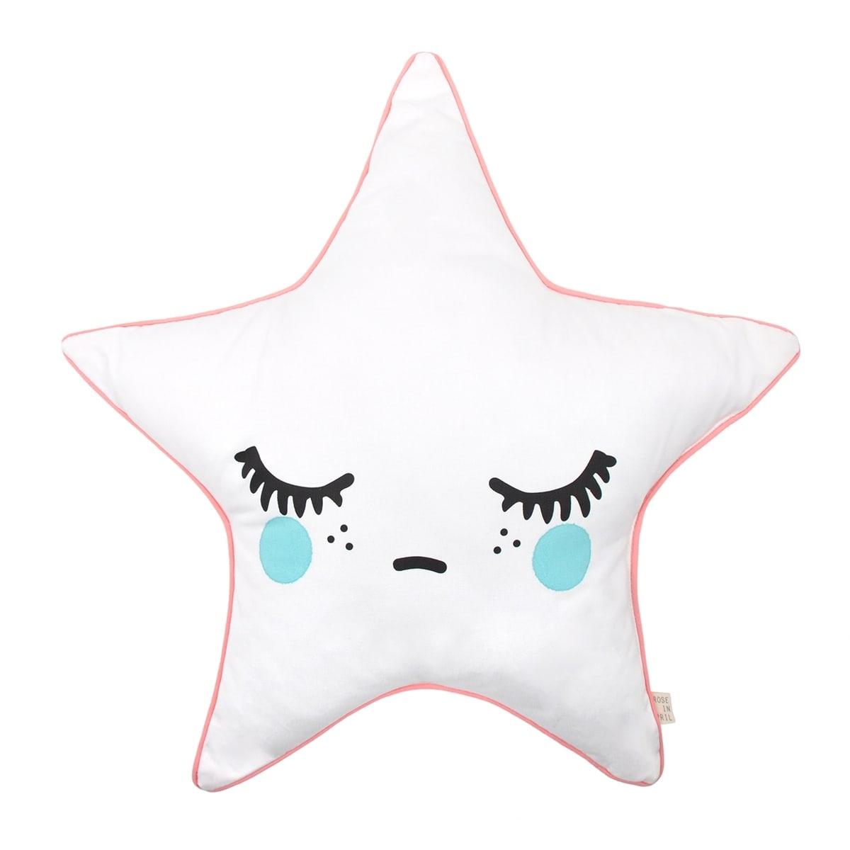 Sleepy Dolly Star Cushion Green