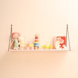 Babou 1 Shelf Light Pink