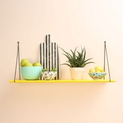 Babou 1 Shelf Lemon Yellow