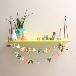 Babou 1 Shelf Neon Yellow