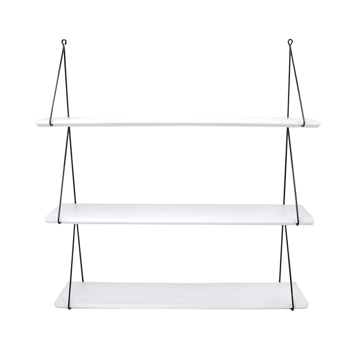 Babou 3 shelves White