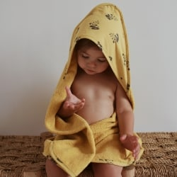 Colette Bath cape Panda Yellow