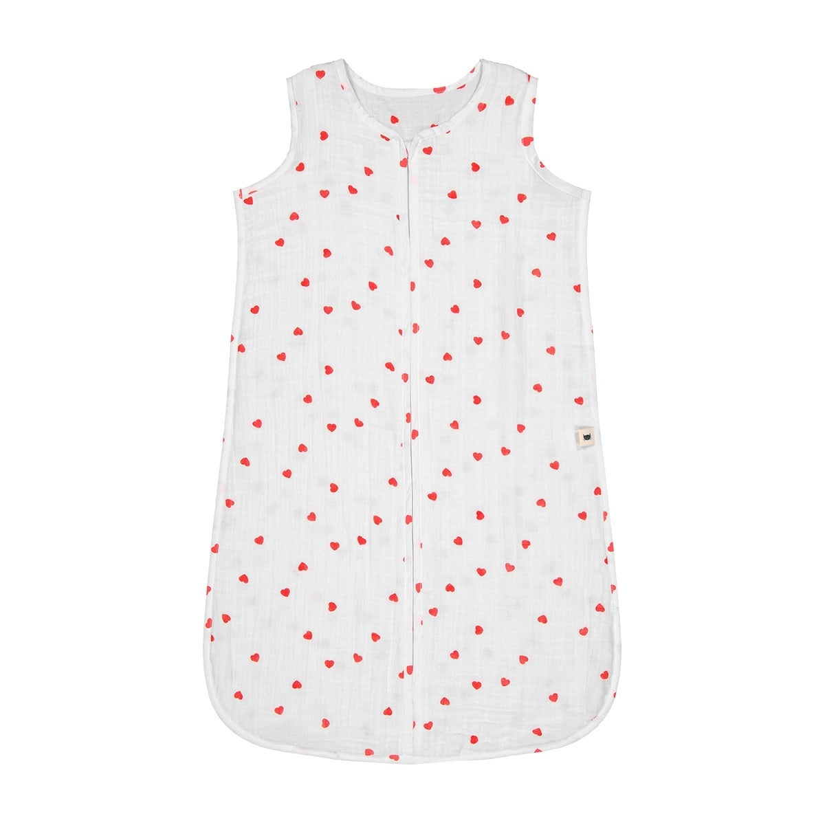 Adèle summer sleeping bag red heart