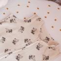 Turbulette légère Adèle imprimée panda