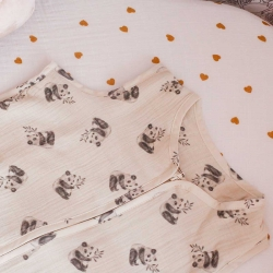 Adèle summer sleeping bag panda print
