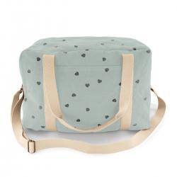 Raphael Bowling Bag Blue Spray