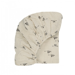 Fitted sheet Olivia Goose natural