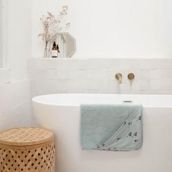 Cape de bain Colette imprimé oie blue spray