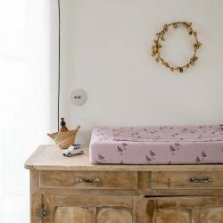 Changing mat Fanny goose lilac